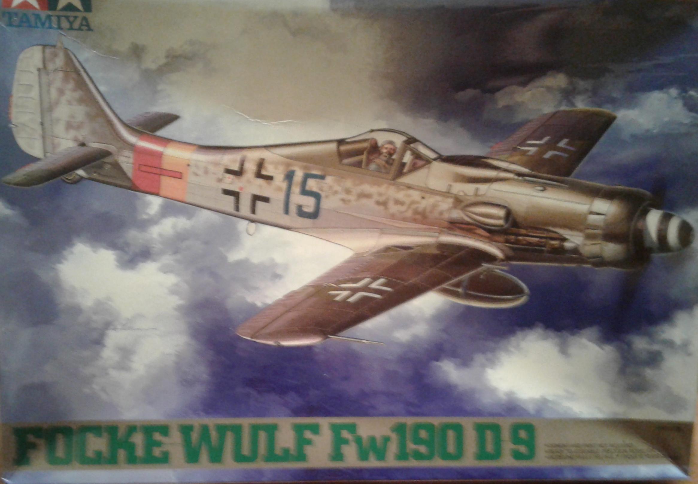 Tamiya Fw 190D-9