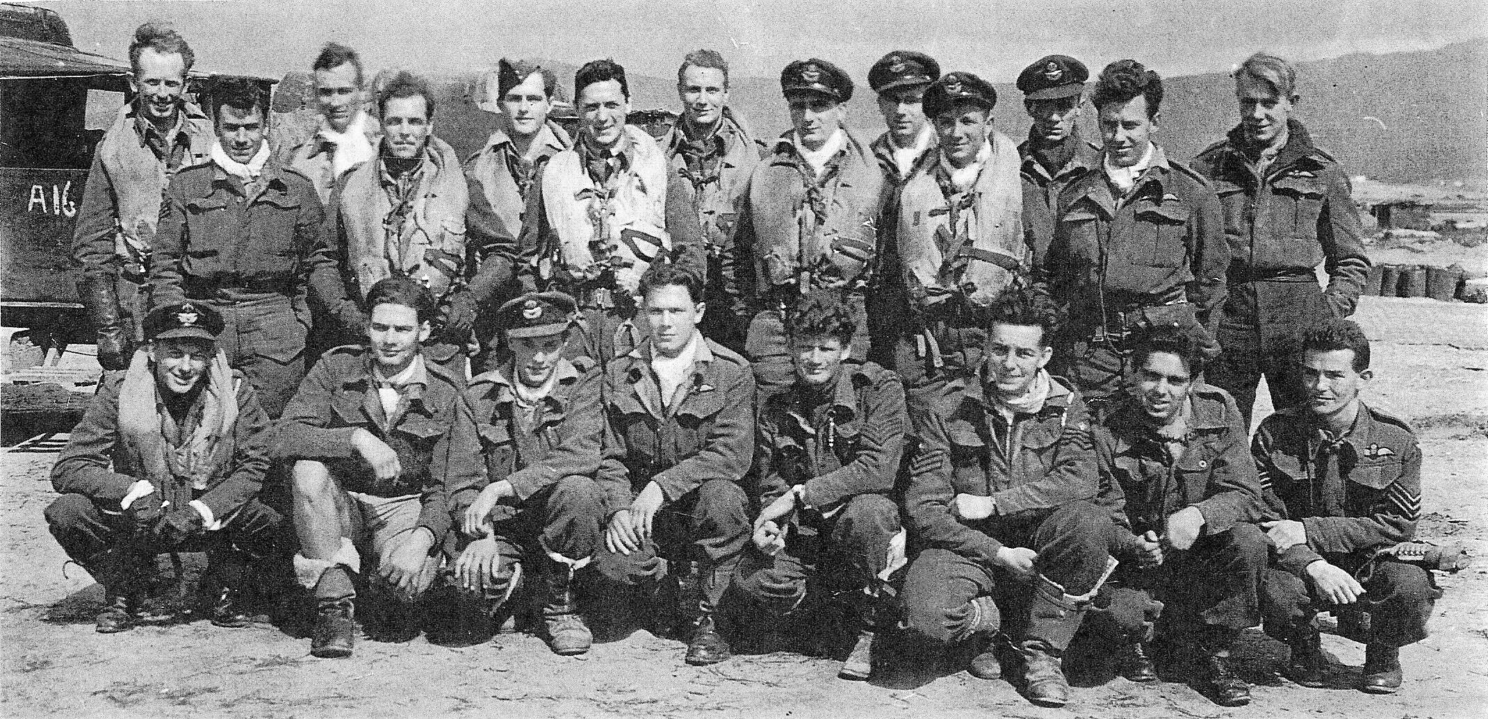 232 Squadron - Tingley, Algeria, North Africa, early 1943 MOD