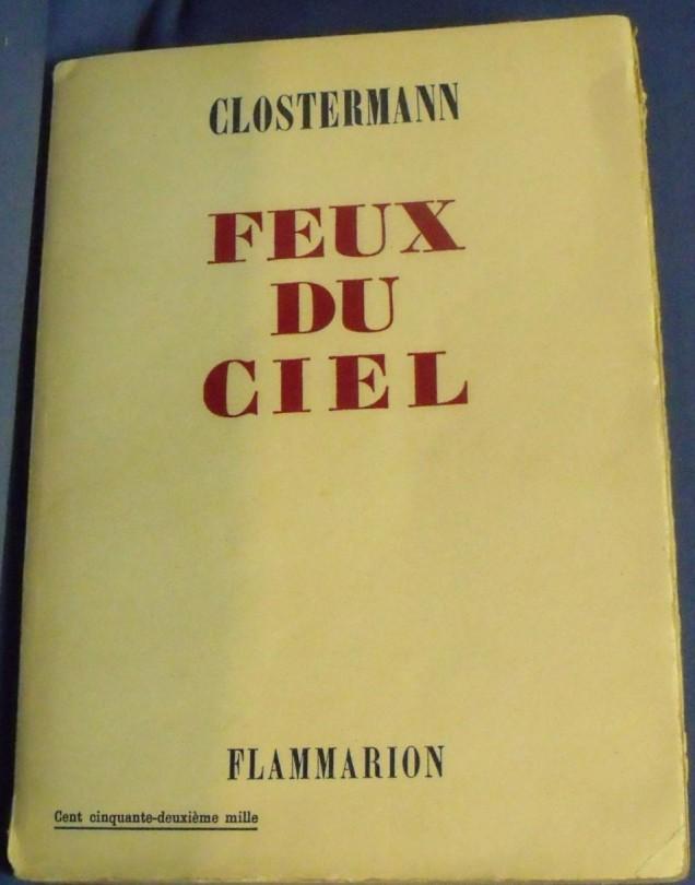 édition originale de Feux du ciel (2)