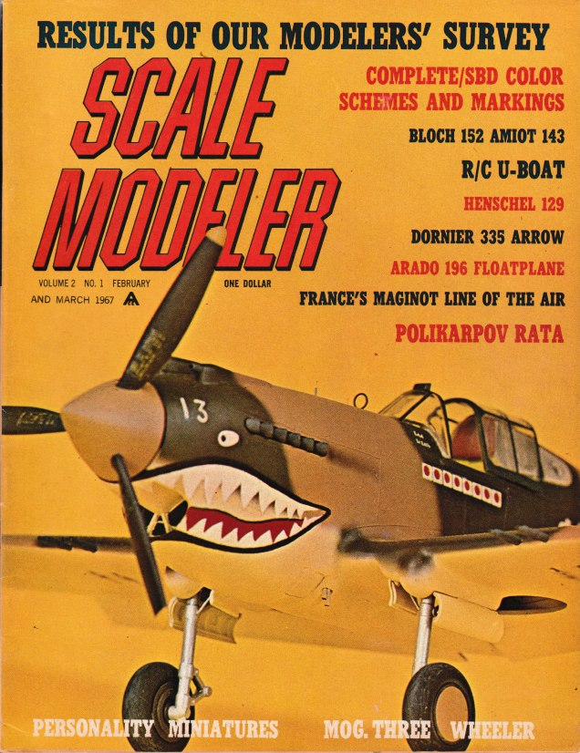 Scale Modeler Volume 2 Issue 1
