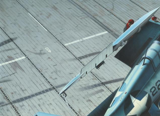 Eduard carrier deck