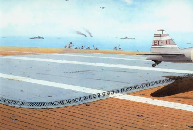 Eduard Japanese carrier deck