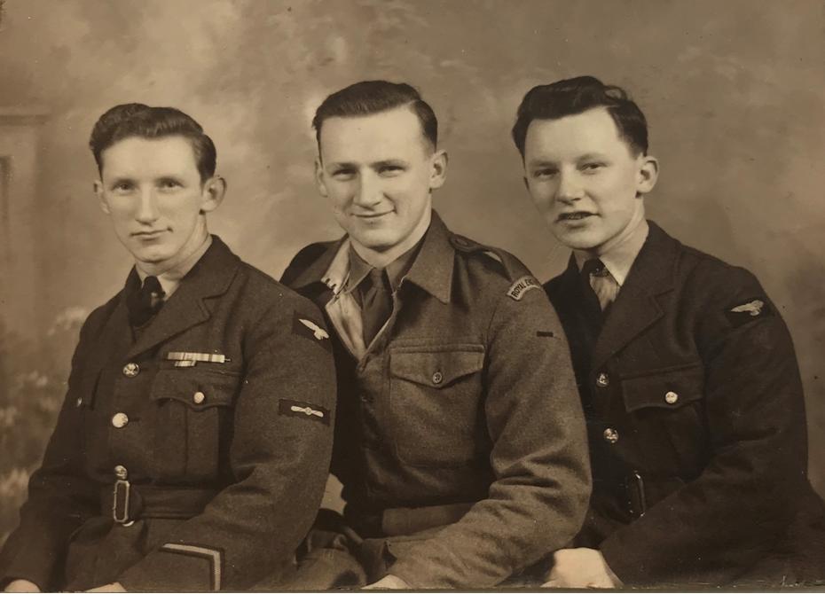 David-George-John in 1946