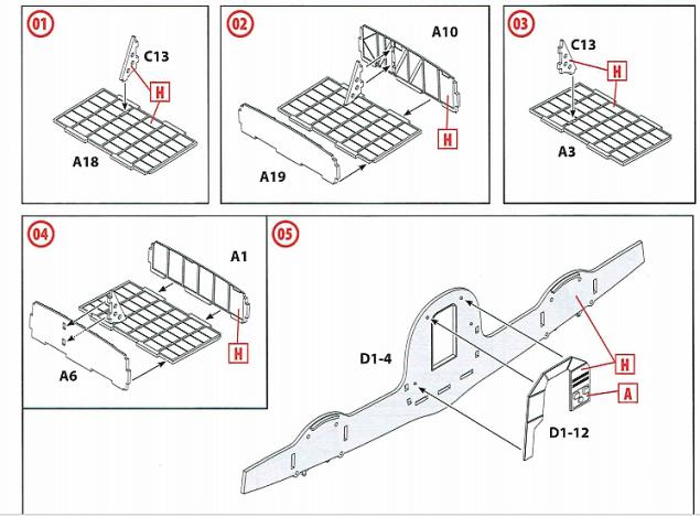 ICM steps 1-5
