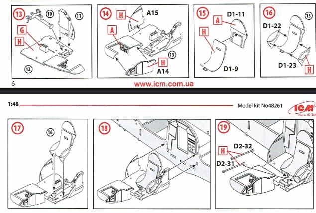 ICM steps 13-19