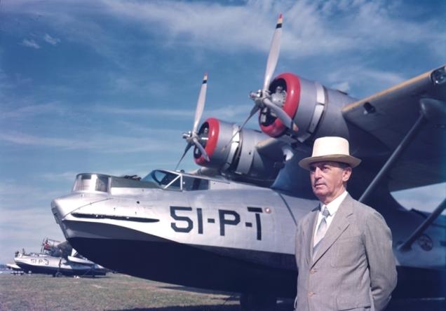 PBY_43_Puerto Rico 1939, Gov. William_P_Leahy