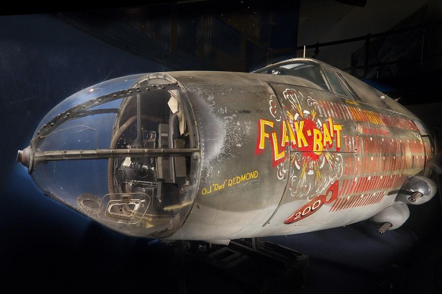 """Martin (Glenn L.) B-26B Marauder (Model 179B) """"Flak Bait,"""" NASM"""